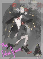 (CLOSED) AUCTION Corvus The False Prince by Deadclub