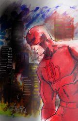 Daredevil - Over Hell's Kitchen by anonymous1310