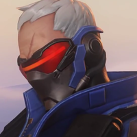 Overwatch Icon - Soldier 76 (1) by Shadowfang3000