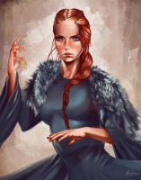 Sansa and The Strangler by Silvaticus