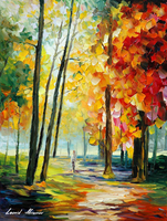 The New Path by Leonid Afremov by Leonidafremov