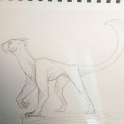 Another sketchy beast by AmberSpyder