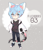 (CLOSED) AUCTION FLEUROS3 ADOPTABLE by machomilk