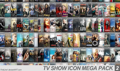 TV Show Icon Mega Pack 2 by FirstLine1