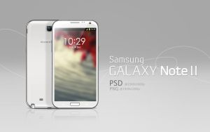 Galaxy Note II PSD by abdelrahman