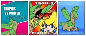 Tropius VS Women in Video Games