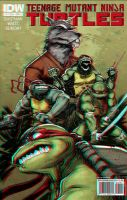 TMNT 3D Anaglyph by xmancyclops