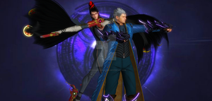 Vergil X Bayonetta 3 by whiteangel-vergildmc