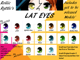 LAT EYES by RollieRyttle