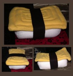 Tamago sushi plush by craftysisters