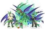 [c] Not-a-flygon Digimon by glitchgoat