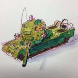 A made up tank by Bursaroo
