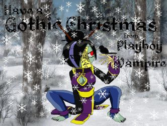 Gothic Christmas - Katasuri by PlayboyVampire