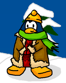 Club Penguin penguin drawing by Magdaneela