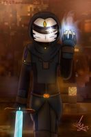 Minecraft Story Mode S2 : The Ninja by TheMaroonLightning