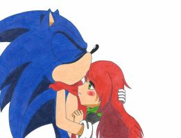 [GIFT] Sonic X Maria by RedFire199-S