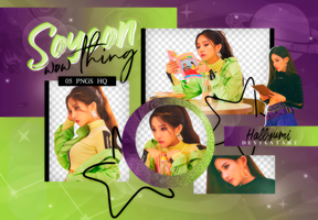 PNG PACK: Soyeon #1 (Wow Thing) by Hallyumi