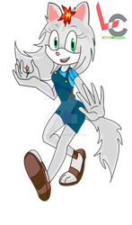 Lily the wolf by Lonely-Cartoonist