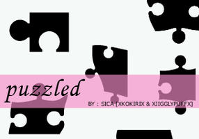 PUZZLED BRUSHES - PS by girlinabox