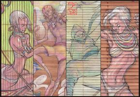 Street Fighter Bamboo Collage by Khylov