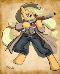 Applejack - Sheriff by TheLivingShadow