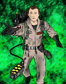 Peter Venkman Colored by jimmy524