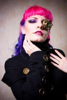 Steampunk Pinup by Colorful-Ayako