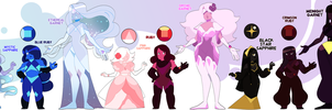 Sapphire and Ruby Fusion Adopts - CLOSED by Seopai