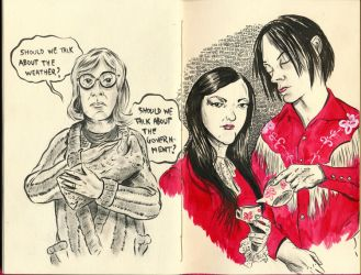 The Pink Sketchbook page 23 by oh-the-humanatee