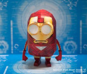 Minion Iron Man Mark VI by iEzQaNDaR