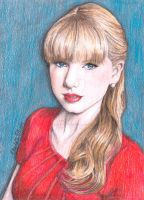 Taylor Swift - Red Era by ArtbyCharlotte
