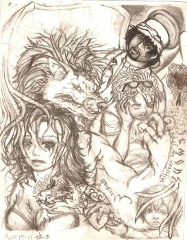 my family and it's demons finished by BLACK-METAL-WOLVEN