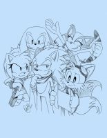 The Boom Crew by PokeSonFanGirl
