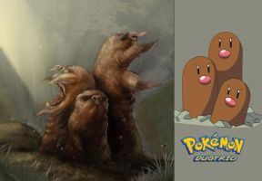 Pokemon Dugtrio Fan Concept