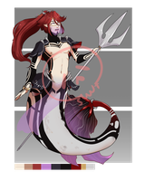 [Adopts] Fighter XVII || USD || Closed | sale by skele-tea
