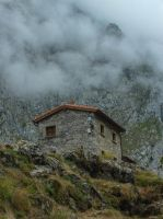 Asturias 2013 (32) Misty Mountains by HermitCrabStock