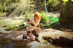 cosplay nidalee from league of legends 3 by Lucy-Dark-Dreams