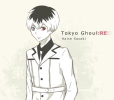 Haise Sasaki (Tokyo Ghoul:RE) by BubblyHT