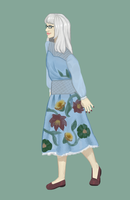 Dusty In Florals by falanian