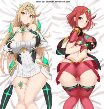 CM: Mythra and Pyra by Kainkout