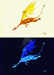 SS: The Glowing Dragon by Figren