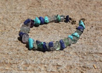 Water Nymph Bracelet by FaithlisCreations