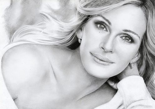 Julia Roberts by riefra