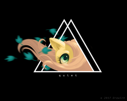 Fluttershy Tshirt design for Redbubble by Drawirm