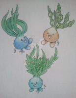 Odd Seaweed Pokemon by Torus333