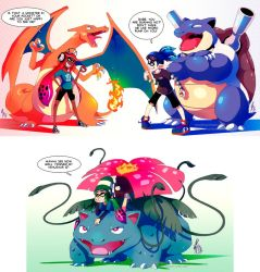 Inky Pocket Monsters by TamarinFrog