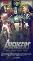 Avengers Movie Poster 1.2 by ALilZeker