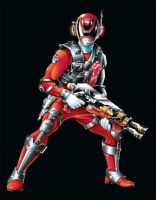 POWER RANGERS SPD - RED SWAT MODE by DXPRO
