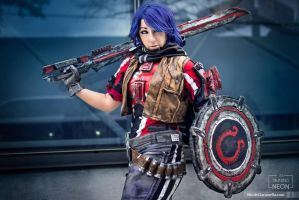 Athena  Borderlands The Pre- Sequel Cosplay by Its-Raining-Neon