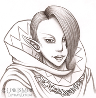Skyward Sword Ghirahim by LinkIsMine